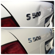 Before and After Mercedes Dent Removal
