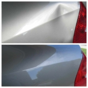 Before and After Lexus Dent Removal